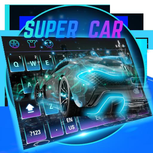 Super car keyboard