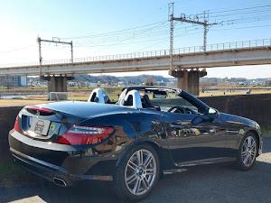 SLK R172 SLK200 Blue Efficiency AMGスポーツパッケージ 2014年式のカスタム事例画像 もり〜さんの2019年01月19日14:01の投稿