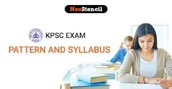 KPSC Exam Pattern and Syllabus 2020