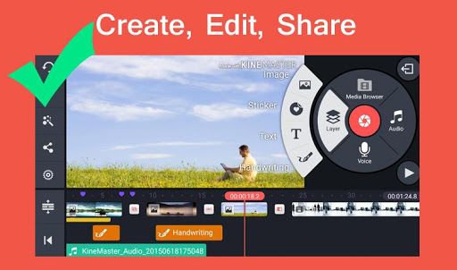 Pro Kine Master + Manual best Free video editor 1.0 screenshots 2