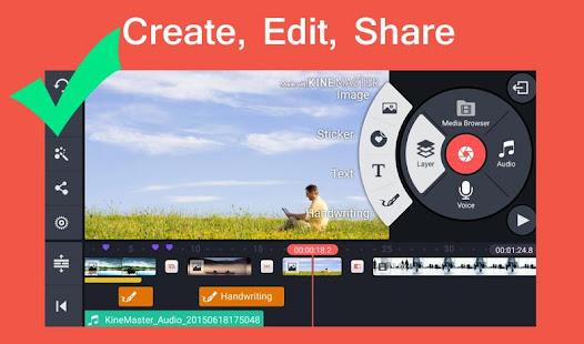 App Pro Kine Master + Manual best Free video editor APK for Windows Phone