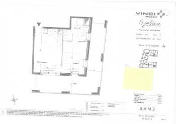 Studio 37,8 m2