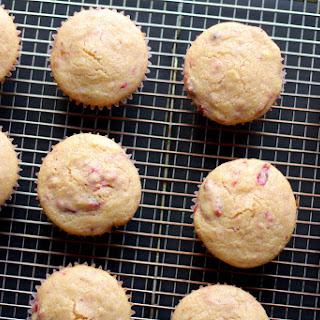 Cranberry Sauce Corn Muffin Recipe
