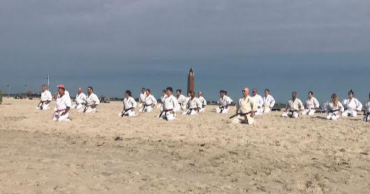 Kenshikai Beach Training 2017
