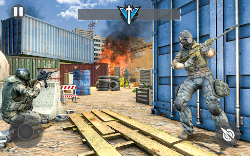 Cover Fire Shooter 3D: Offline Sniper Shooting apkmind screenshots 1