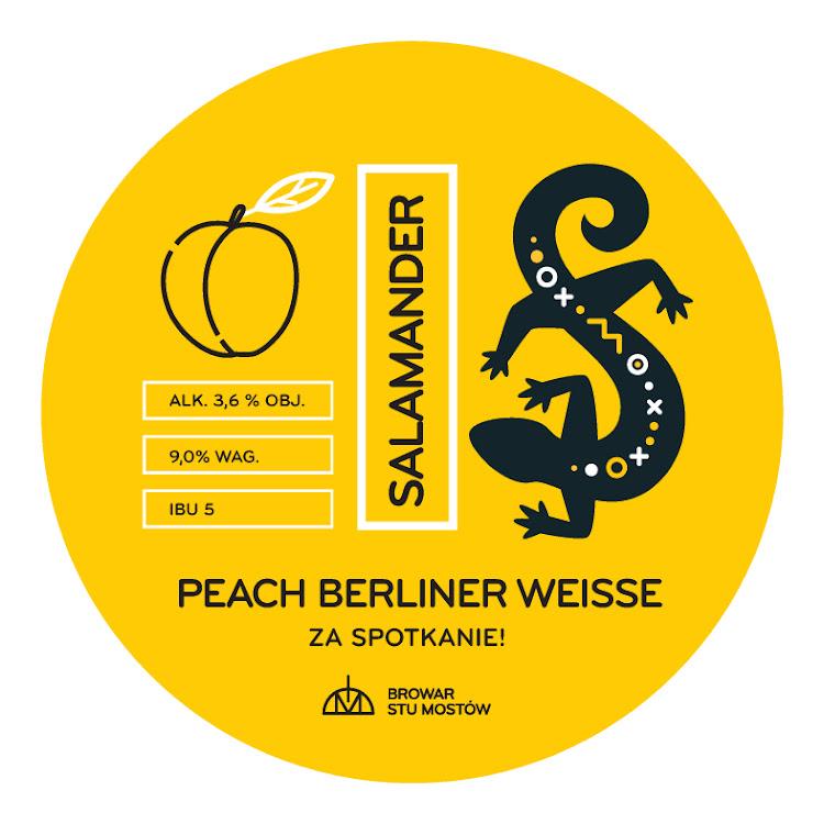 Logo of Salamander Peach Berliner Weisse