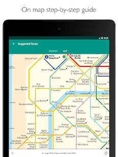 Paris Metro – map, route planner and train times- screenshot thumbnail