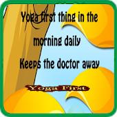 Yoga First Asanas Daily