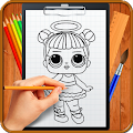 Learn How to Draw Cute Surprise Dolls download