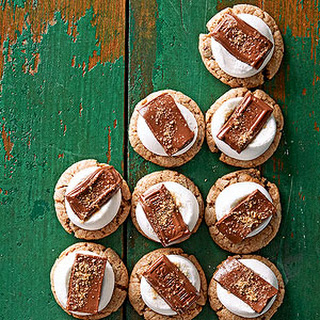 Soft S'more Cookies.
