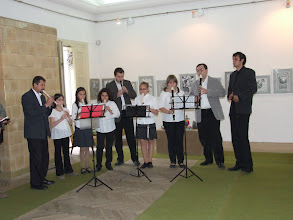 Photo: A Molnár Józsiás Zenei Általános Iskola régizene együttese