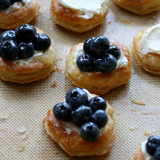 Blueberry Cream Tart Recipes