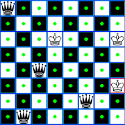 Chess Queen and King Problem