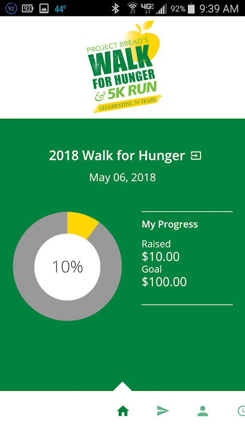 The Walk for Hunger- screenshot