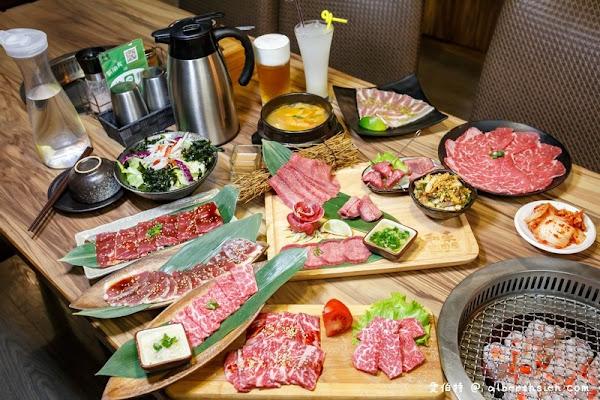 和東燒肉屋.桃園美食(牛舌七吃必點的美味炭火燒肉套餐)