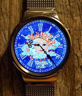 Sun and Moon Watch Face - náhled