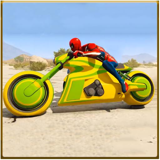 Spider Motorbike Racing