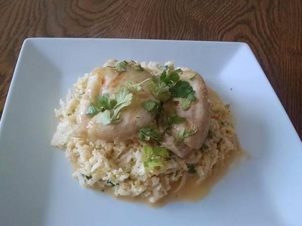 Sweet Chili Coconut Chicken W Cauliflower Rice Recipe