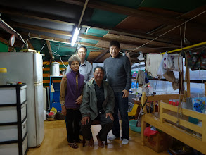Photo: Ah Mou visited his friends in Saigon 西貢 on their boat house
