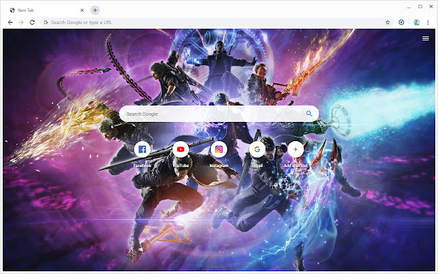 New Tab - Devil May Cry 5