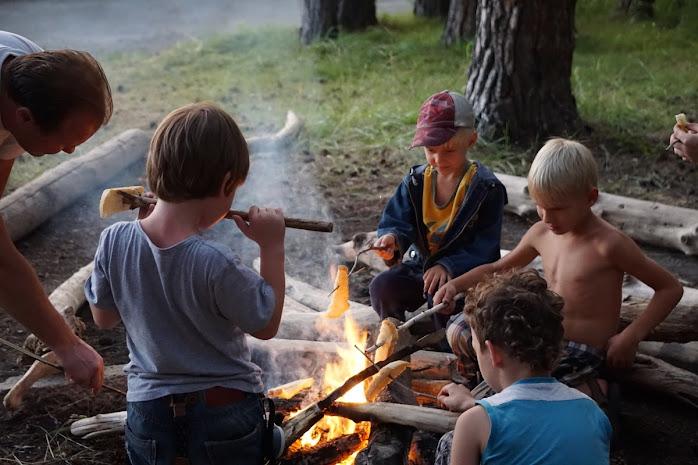 Семейный лагерь сибирь