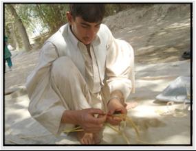 Photo: Saeed Mohammad-Kabuliha village. [Photo by Ali Muhammad Ramzi]