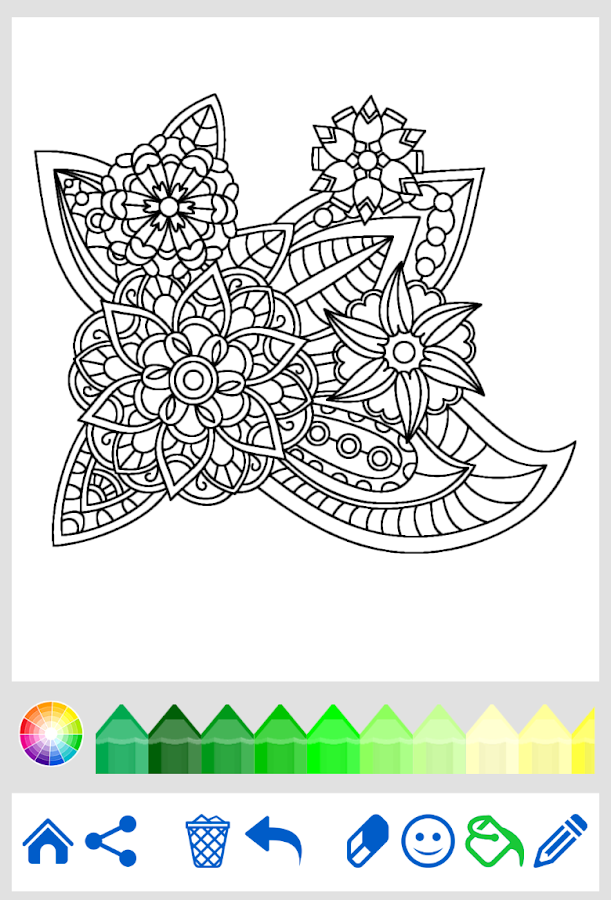 Coloring Pages App For Android : Coloring book for adults android apps on google play