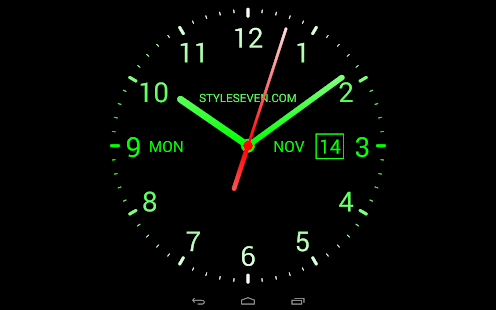 3d Live Wallpaper Pro Apk Free Download Analog Clock Live Wallpaper 7 Android Apps On Google Play