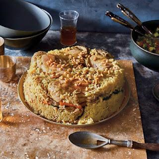 Maqluba (Upside-Down Chicken and Rice)