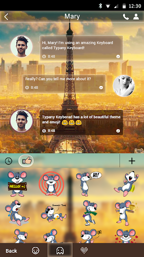mod Dream Paris Theme Keyboard 4.5 screenshots 3