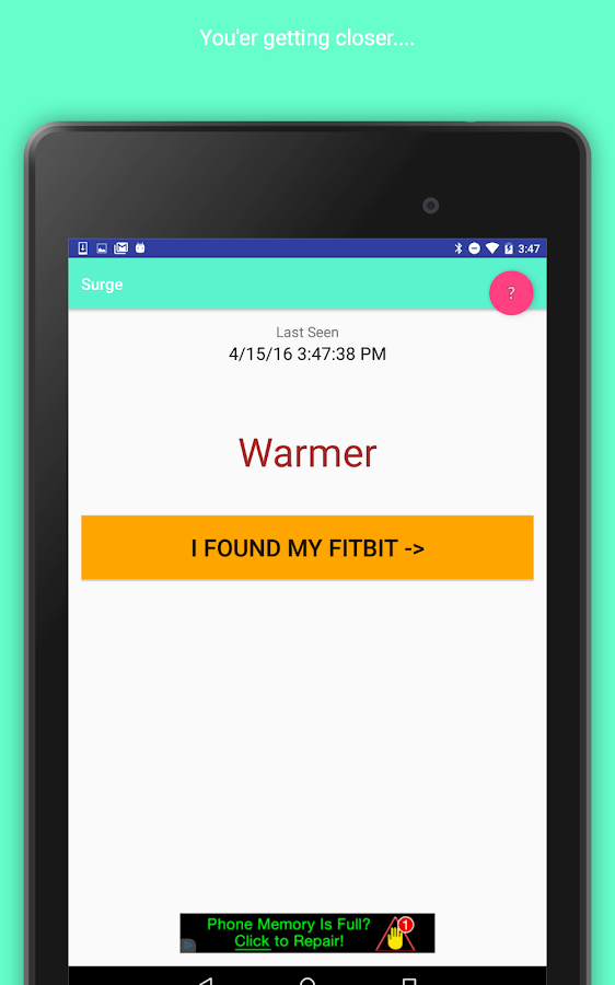 Find My Fitbit - Finder App For Your Lost Fitbit- screenshot