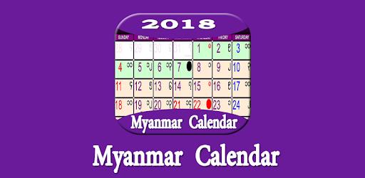 myanmar calendar 2018 ng dng trn google play