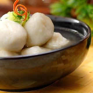 Fish Balls Noodle Soup.