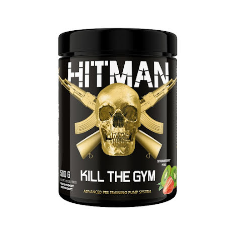 Swedish Supplements Hitman 500g - Strawberry Kiwi