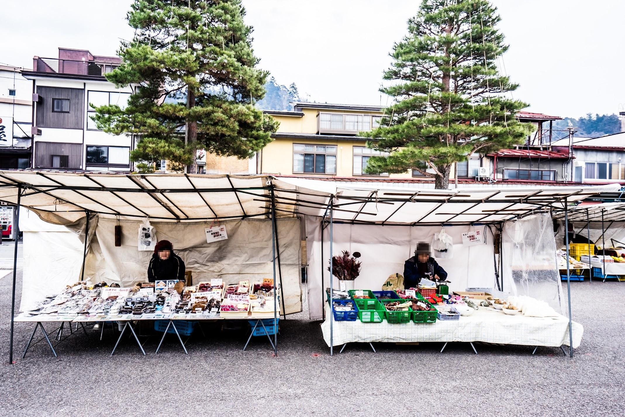 Takayama Jinya morning market