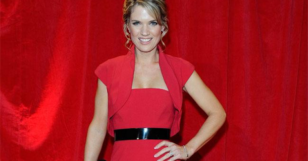 Charlotte Hawkins hasn't learnt Strictly Come Dancing routine