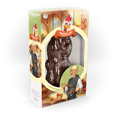 Chocolat Caniche Figurines régulières