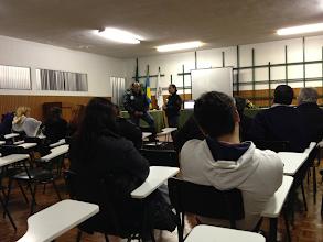 Photo: Ação de esclarecimento realizada na Benedita com o apoio da junta de freguesia local