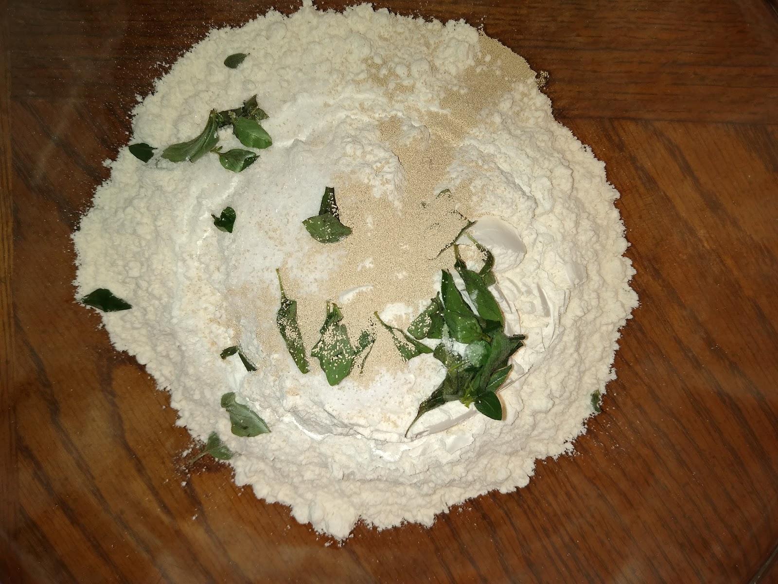 oregano pizzza dough recipe picture
