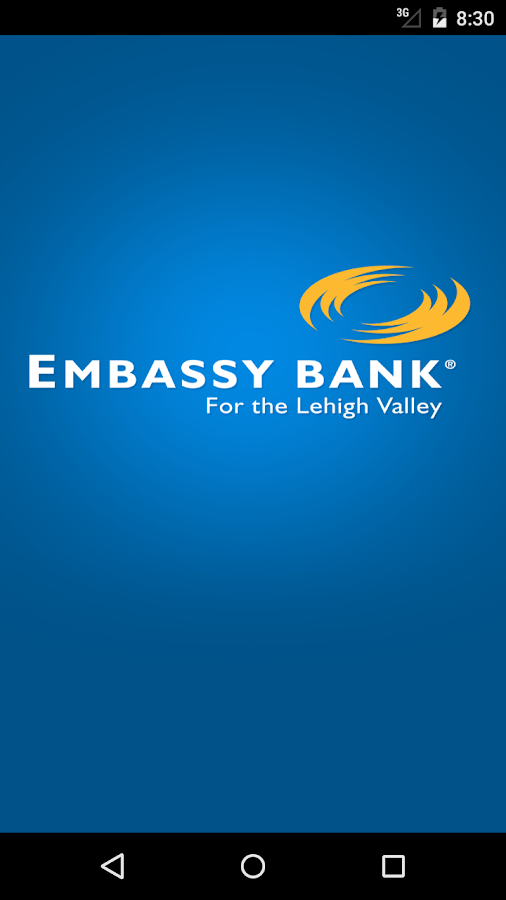 Embassy Bank- screenshot