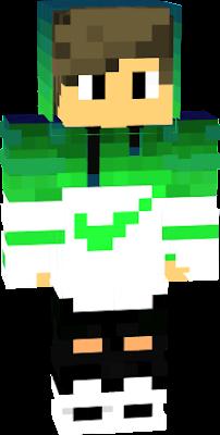 Green Boy Nova Skin