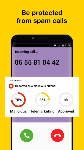 Orange Phone Android App Screenshot
