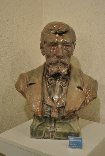 Buste Alphonse Cytère - Musée de la Terre