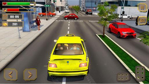 Mobile Taxi Car Driving Games Police Car Simulator 1.4 screenshots 3