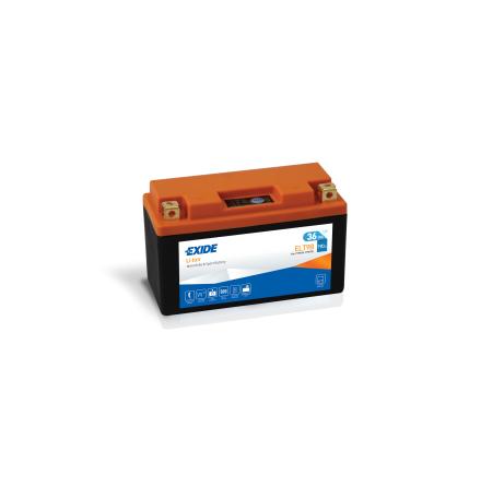 Tudor Exide MC Li-Ion batteri 190CCA ELT9B lxbxh=150X65X92mm YT7B-BS 4309