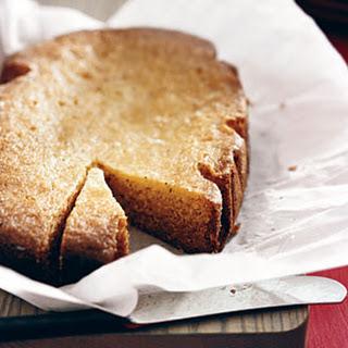 Slow-Cooker Lemon Poppy-Seed Cake