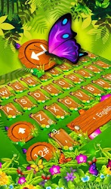 Spring Forest Butterfly Keyboard Theme Apk Download Free for PC, smart TV