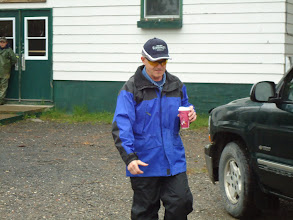 Photo: Sat, May 14/11 SBC ATV Day - Brian Logue slurps the last of his morning coffee