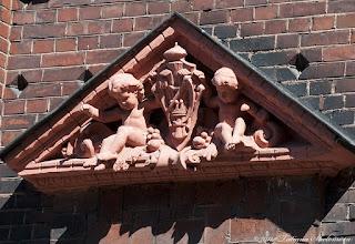 Photo: Здание бывшего финского банка (деталь фасада)