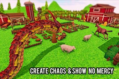 Furioso anaconda dragão serpente cidade rampage 1.0 Mod Apk 7